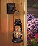 Old Fashioned Style Solar Lighted Candle Lantern