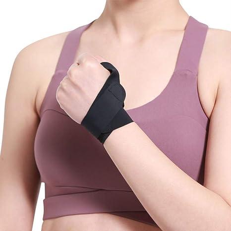Rtgfs 1 Pc Elastic Bandage Wrist Support Thumb Hand Brace Finger