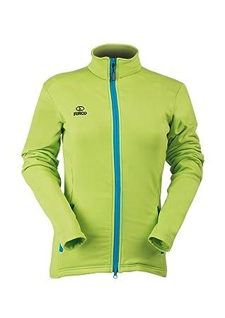 ei myyntiveroa puoleen hintaan alennuskauppa Furco Comet Women's Fleece Jacket, Lime Turquoise, Size L ...