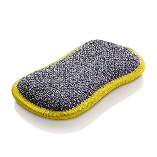 (E-Cloth Microfiber Dual Purpose Washing Up Pad, Yellow )