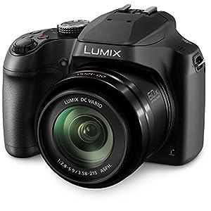 Panasonic DC-FZ80K Lumix 4K Pt. & Shoot Long Zoom Camera, 18.1 MP, F2.8-5.9, Power O.I.S with 3