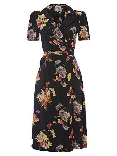 The Seamstress of Bloomsbury Damen A-Linie Kleid Mehrfarbig Spring Flower