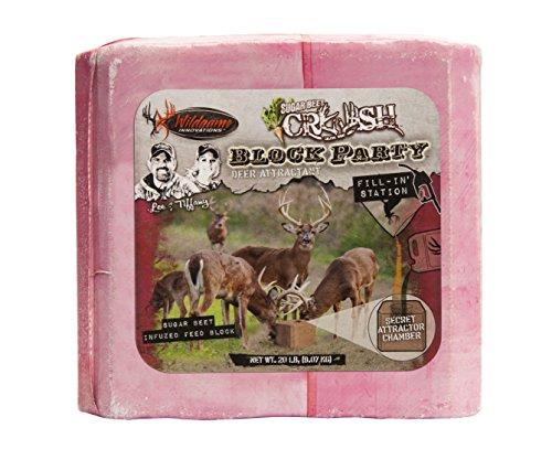 Manna Pro Wild Game Deer Block Sugar Beet Crush, 20 lb