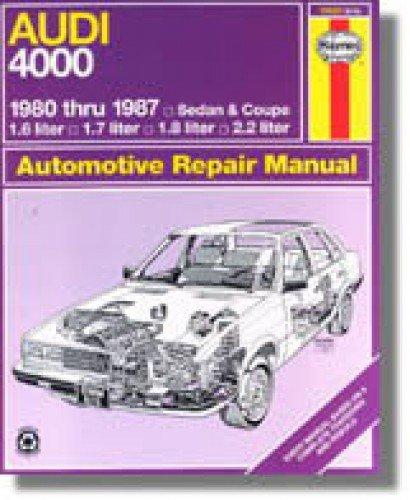 Read Online H15020 Haynes Audi 4000 1980-1987 Auto Repair Manual ebook