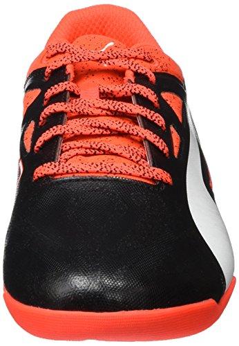 Puma Herren evoSPEED Sala 1.5 Fußballschuhe Rot (Red blast-White-Black 01)