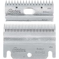 Juego de cuchillas cortadoras superior e inferior Oster Clipmaster, 83AU y 84AU (078511-126-001)