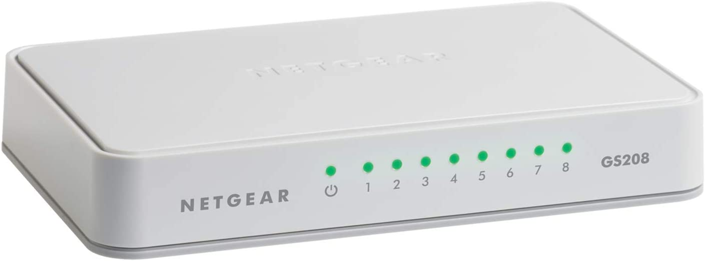 NETGEAR 8-Port Gigabit Ethernet Unmanaged Switch, Desktop