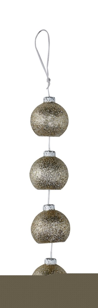 Deco Flair COR Holiday Rope Silver Ornaments Candles DecoFLAIR COR6497