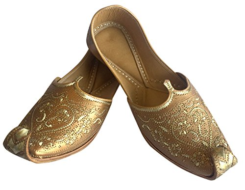 Step N Style Uomo Punjabi Jutti Sherwani Scarpe Rame Taglio Lavoro Zari Khussa Scarpe Calzature Etniche Fatte A Mano