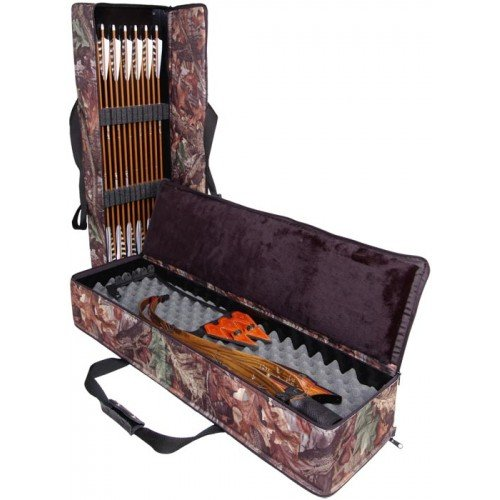 Lakewood Products Take Down Recurve Case, Camouflage, Large