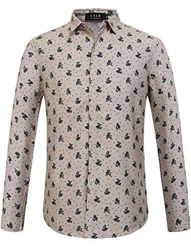 Flowered Long Sleeve Shirt - 6