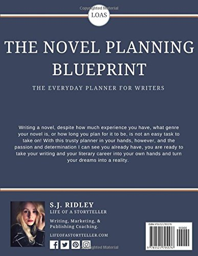 The novel planning blueprint an everyday planner for writers sj the novel planning blueprint an everyday planner for writers sj ridley 9781521795576 amazon books malvernweather