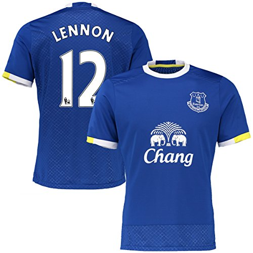 New Season Football Jersey Mens Everton #12 Lennon Soccer Home Jersey XXL (Youth Soccer Jersey Everton)