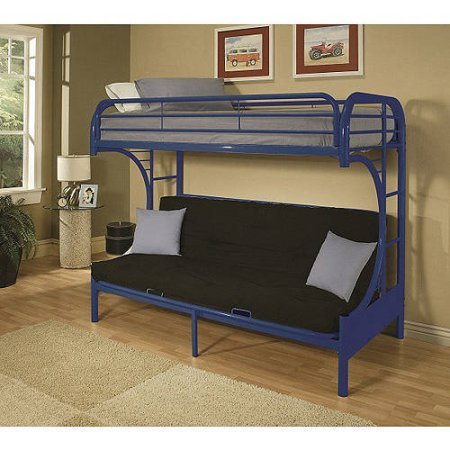 eclipse twin over full futon bunk bed blue babies and