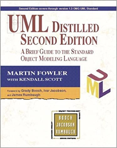UML Distilled: A Brief Guide to the Standard Object Modeling Language (Object Technology Series)