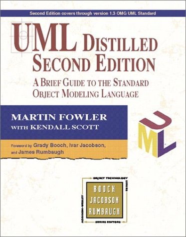 UML Distilled: A Brief Guide to the Standard Object Modeling Language (2nd Edition) by Addison-Wesley Pub (Sd)