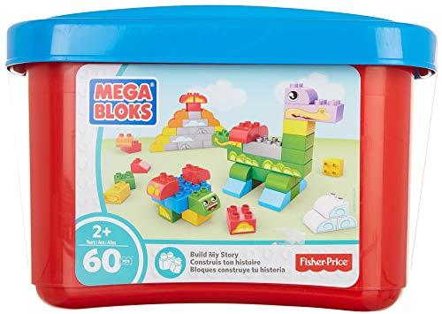 (Mega Bloks Build a Story Small Tub Classic Building Blocks Building Kit)