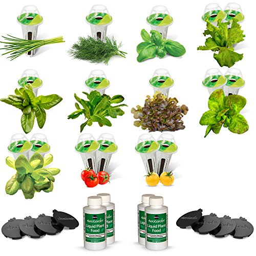 AeroGarden Salad Bar Seed Pod Kit (for Farm/Farm Plus Models) by AeroGrow