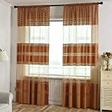 Star-Five-Store Luxury Curtain For Bedroom Wide Strip Curtains For Living Room Modern Polyester Cortinas Window String Curtains