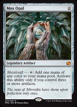 Magic: the Gathering - Mox Opal (223/249) - Modern Masters 2015
