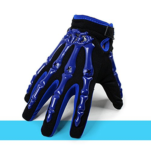IRON JIA'S Skeleton Finger Gloves Full Length Motorcycle Gloves Cool Breathable Wearable Moto Gloves Cycling Gloves Gost Claws Bike Gloves