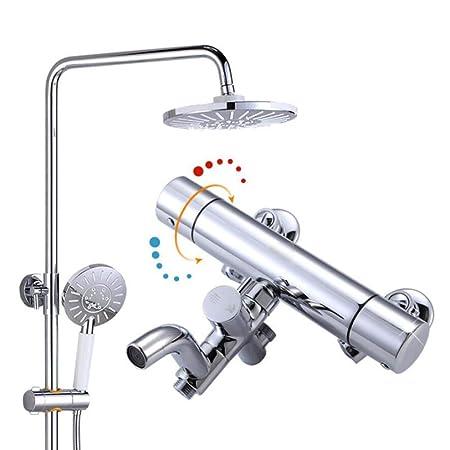 LWUDI Sistema Set De Duchaset, Columna de Ducha de presión ...