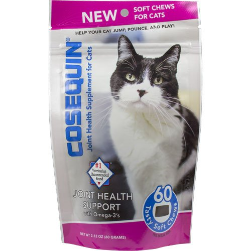 Cosequin For Cats - NUTRAMAX 60 Count Cosequin Capsules for Cats Soft Chews