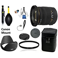 Sigma 17-50mm f/2.8 EX DC OS HSM Zoom Lens for Canon DSLRs with APS-C Sensors Lens Bundle + UV Filter