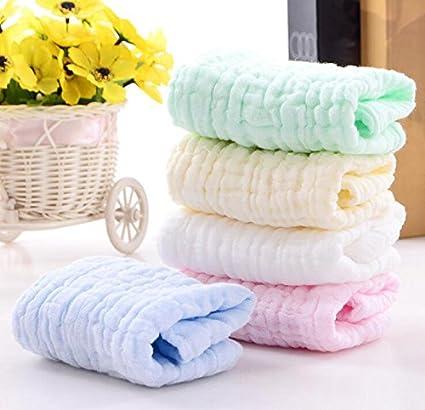 Paquete de 6 Toallitas de Baño para Bebé, Toallas faciales extra suaves para bebé recién
