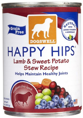 Dogswell Happy Hips Lamb & Sweet Potato - 12 X 13 Oz