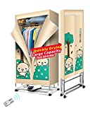 Kasydoff Portable Clothes Dryer 3-Tier Foldable Laundry Drying...