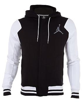 Nike Jordan Varsity - Sudadera de Fitness para Hombre, Color Negro (Black/White/Cool Grey), Talla S: Amazon.es: Deportes y aire libre