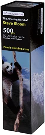 The Purple Cow Steve Bloom 3D Panda Escalada un árbol Tabla Juego