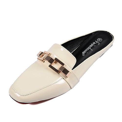 Zapatos de Mujer PU 2018 Summer Comfort Flats Talón Plano Slip-Ons y Mocasines para