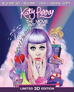 Katy Perry The Movie: Part of Me (Three-Disc Combo: Blu-ray 3D / Blu-ray / DVD / Digital Copy)