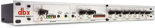 DBX 286s Preamplifier Channel Strip Mic Pre Amp w/ 2x 25' XLR Cables