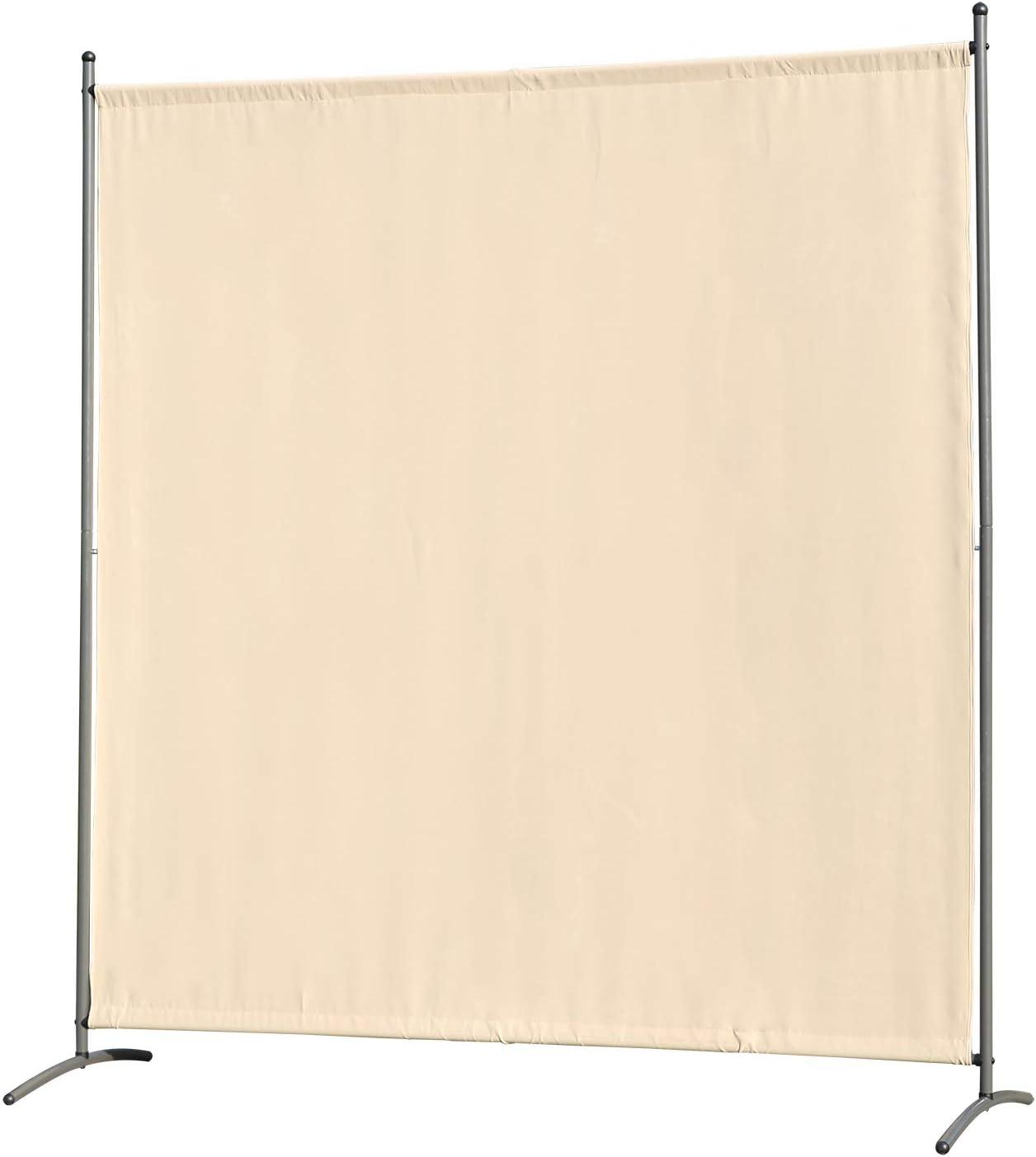 Natural Separador de Ambientes Plegable Decoraci/ón Elegante 200x180 cm Divisor de Habitaciones Angel Living Biombo de Bamb/ú con 4 Paneles