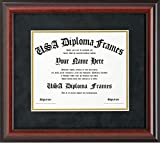 Cherry Mahogany Matte Diploma Frame (8.5 x 11 documents)