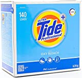 Ultra Tide Professional with OXY Power. Cleans Color & White Laundry . Powder Detergent, 140 Loads 15.5lbs