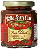 Bella Sun Luci, Sun Dried Tomato Halves with Italian Herbs, 6.5 Ounce Jar