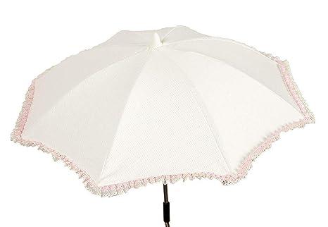 Babyline Caramelo - Sombrilla para silla de paseo, color rosa