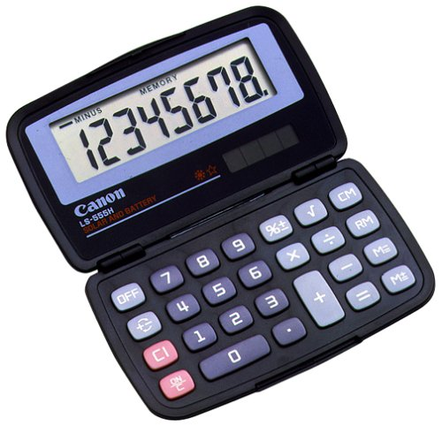 - Canon Office Products LS-555H Business Calculator