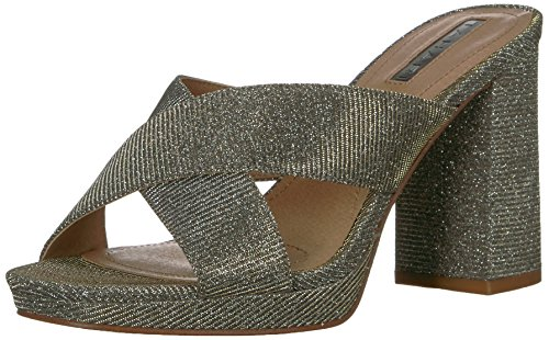 Tahari Mujeres Posey High Heeled Sandal Multi Sparkle