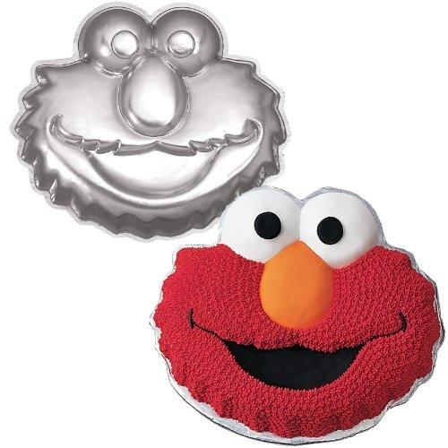 [Wilton Elmo Face Cake Pan] (Elmo Decorations)