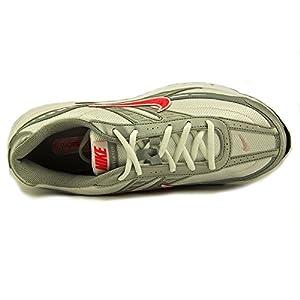 NIKE Women's Initiator Walking Running Sneaker Shoes-White/Silver/Pink-8.5