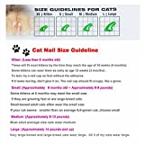 20pcs Soft Pet Cat Nail Caps Claws Control Paws Off