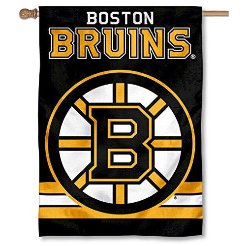 Boston Bruins Two Sided House Flag - Two Sided Banner Flag