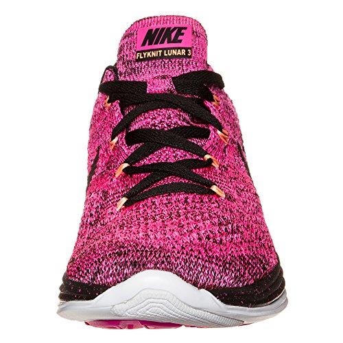 Da Power Pink Black Foil 3 Flyknit Lunar Nike Running Donna 602 Scarpe wZRIIqf