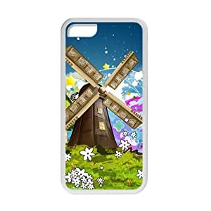 XiFu*MeiWelcome!ipod touch 4 Cases-Brand New Design Beautiful Windmill High Quality TPU For ipod touch 4 4 Inch -06XiFu*Mei