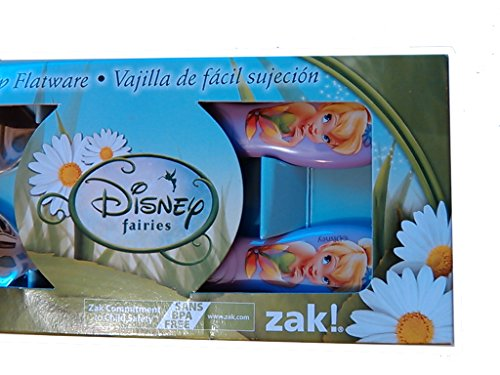 Tinkerbell Sets (Disney Fairies Tinkerbell Flatware Set Spoon & Fork)